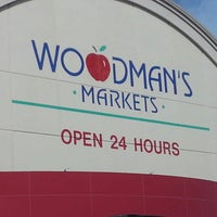 Photo taken at Woodman's Food Market by Mary R. on 9/14/2013