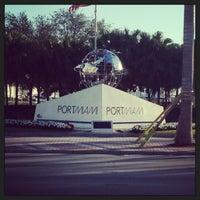 Photo taken at PortMiami by Steffi S. on 1/28/2013