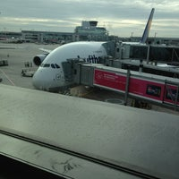 Photo taken at Lufthansa Flight LH 440 by OceanClub 7. on 9/2/2013