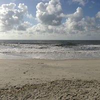 Photo taken at Hunting Island Beach by Brian W. on 7/7/2013