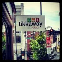 Photo taken at Tikkaway Grill by Alan Z. on 9/6/2013