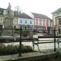Photo taken at Rathausplatz Weitra by marcus a. on 11/14/2012