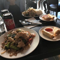 Photo taken at Newtown Thai by Jeffrey C. on 4/9/2017