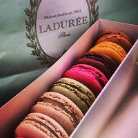 Photo taken at Ladurée by evan on 6/14/2013
