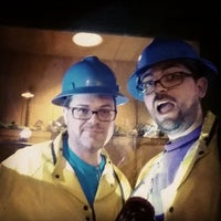 Photo taken at Queen Mine Tours by Sharlim P. on 6/14/2014