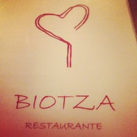 Photo taken at Biotza by Marcos A. on 5/16/2014