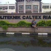 Photo taken at Politeknik Caltex Riau by Rian M. on 3/4/2013