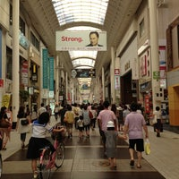 Photo taken at 上通アーケード by Takanari F. on 8/17/2013
