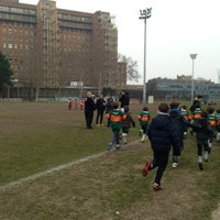Photo taken at Stade Claude Luboz - CSMG Rugby by Damien P. on 3/30/2013