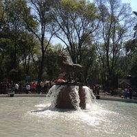 Photo taken at Parque de los Venados by karla l. on 2/17/2013