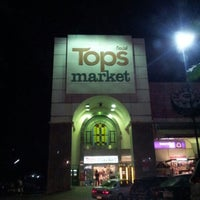 Photo taken at Tops Market by Dewey D. on 11/3/2012