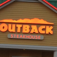 Photo taken at Outback Steakhouse by Marianne S. on 4/22/2013