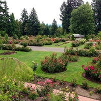 Photo taken at International Rose Test Garden by Stephen S. on 7/21/2013