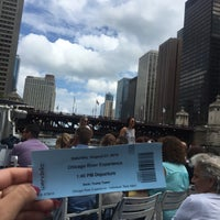 Photo taken at Chicago Water Taxi (Michigan) by Kindah H. on 8/27/2016