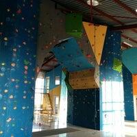 Photo taken at Bluesky Rock Gym by Samir L. on 6/29/2014
