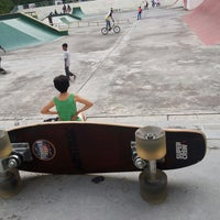 Photo taken at Youth Park Skate Park by Amir Isma R. on 9/16/2014