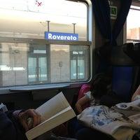 Photo taken at Stazione di Rovereto by Sabrina D. on 5/13/2013