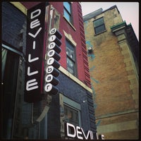 Photo taken at Deville Dinerbar by Vince L. on 4/1/2013