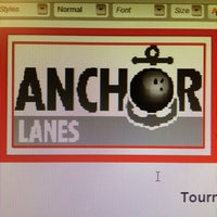 Photo taken at Anchor Lanes by Shannon B. on 3/21/2013