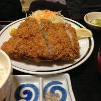 Photo taken at 旨いとんかつ カツ亭 by elan on 4/7/2013