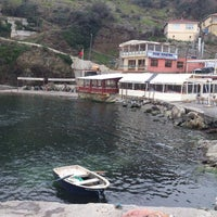 Photo taken at Garipçe by Cihan Ç. on 3/14/2013