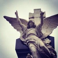Photo taken at La Recoleta Cemetery by Thiago R. on 3/21/2013
