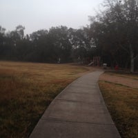 Photo taken at Armand Bayou Hike And Bike Trail by Burleigh N. on 1/10/2014