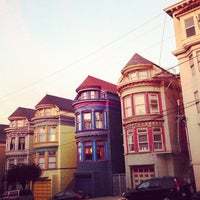 Photo taken at Haight-Ashbury by Yue T. on 2/3/2013