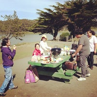 Photo taken at Harding Park Picnic Area by Yue T. on 3/17/2013