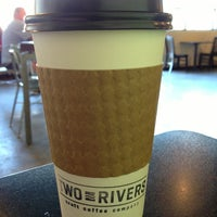 Photo taken at Two Rivers Craft Coffee Company by Tim S. on 5/21/2013