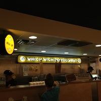 Photo taken at Which Wich? Superior Sandwiches by Dan N. on 8/11/2013