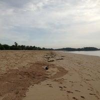 Photo taken at Nusa Dua Beach by Александр И. on 4/1/2013