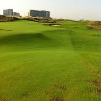 Photo taken at Yas Links Golf Course by Hyuck Soo L. on 10/19/2012