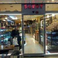 Photo taken at Savoy Pastanesi by Yüksel T. on 3/4/2013