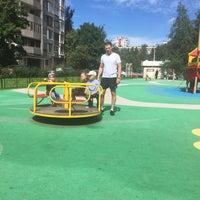 Photo taken at Детская Площадка by Алина Ж. on 7/17/2016