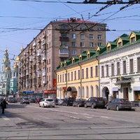 Photo taken at Baumanskaya Street by Sergey D. on 4/27/2013