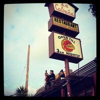 Photo taken at La Cabaña Restaurant by Ashley W. on 5/6/2013
