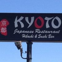 Снимок сделан в Kyoto Japanese Restaurant пользователем CareyAnne O. 3/14/2013