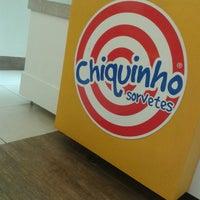 Photo taken at Chiquinho Sorvetes by Heminho H. on 8/21/2014