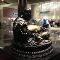 Photo taken at Big Buddah Statue at ARIA by Stephen F. on 3/13/2013
