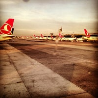 Photo taken at Istanbul Atatürk Airport (IST) by Duygu D. on 11/11/2013