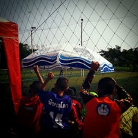 Photo taken at CMI Football Club by Yoe P. on 9/29/2012