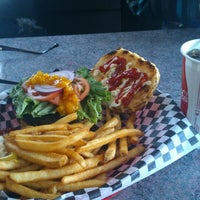 Photo taken at World of Burgers by Víctor J. on 11/19/2013