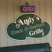 Photo taken at Andys Steak and Seafood Grille by Ravinder B. on 3/12/2013