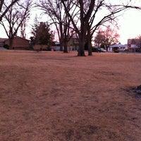 Photo taken at Fox Memorial Park by Louisa E. on 3/7/2013