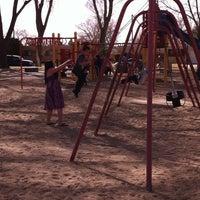 Photo taken at Fox Memorial Park by Louisa E. on 3/15/2013