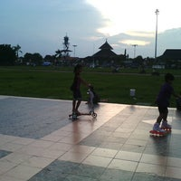 Photo taken at Alun - Alun Demak by citRa R. on 3/12/2013