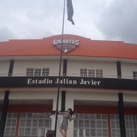 Photo taken at Estadio Julian Javier by Janna Q. on 11/3/2013