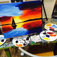 Photo taken at Painting Lounge by jane p. on 10/2/2015