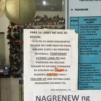 Photo taken at LTO Driver's License Renewal Center by Jovan P. on 12/22/2014